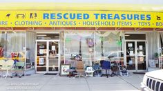 Rescued Treasures Thrift Store in Gas City, #Indiana