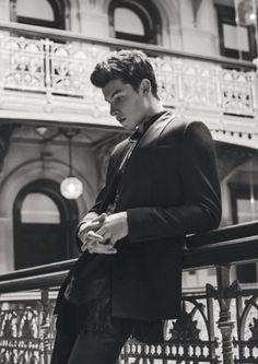 L'uomo Vogue photo shoot