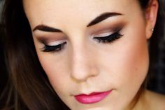 Sultry romantic plum smokey eye makeup tutorial using our Nude'tude palette.