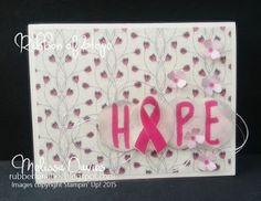 Stampin' Up! Ribbon of Hope by Melissa Davies @rubberfunatics #rubberfunatics #stampinup