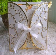 Stamping with Bibiana: NEW: 50th Anniversary Gatefold Petal Card