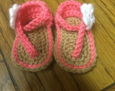 CROCHET PATTERN Baby Sandals Sport 0 to 6 mo boy por EasyCreations