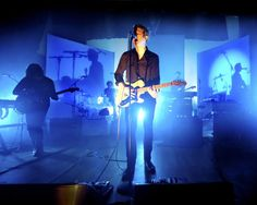 """Spoon frontman Britt Daniel opens with """"Do You,"""" from the band's new album """"They Want My Soul,"""" during their performance Thursday, Sept. 11, 2014, at the Carnegie Library Music Hall in Homestead.  (Jack Fordyce  