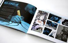 Bonafide Magazine Issue 02 by Paul Allworthy, via Behance