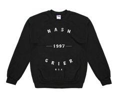 Nash Grier Nash Grier '97 USA Varsity Crew Neck Sweatshirt - BLV Brands