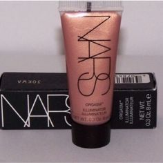 NARS Orgasm Illuminator brand new in box Orgasm Illuminator 0.3 Oz brand new in box never been used. Please note this is not a full size. NARS Makeup Luminizer