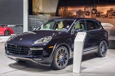 Porsche Cayenne Turbo S Unveiled IN Detroit