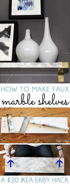 HOW TO MAKE DIY FAUX