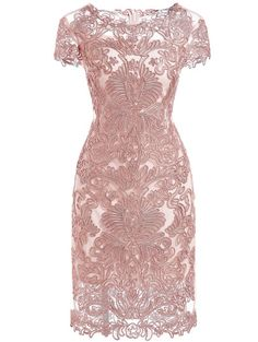 SheIn offers Apricot Round Neck Short Sleeve Bodycon Lace Dress & more to fit your fashionable needs. Short Lace Dress, Bodycon Dress With Sleeves, Lace Sleeves, Dress Up, Short Sleeve Dresses, Dress Lace, Lace Dresses, Mini Dresses, Pink Dress
