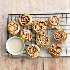Almond Cinnamon Buns Recipe - Country Living