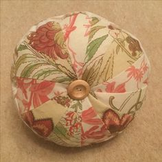 Patchwork pinwheel cushion