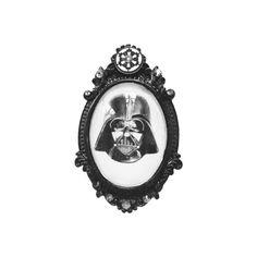 Star Wars Darth Vader pin- Darth Vader Cameo - Geek gift for her- nerdy gift- geek girl- Nerdvember- holiday gift- christmas gift