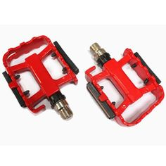 Outdoor Aluminium Alloy Foot Bearing Pedal With Reflector For Bicycle *** Want to know more, click on the image.