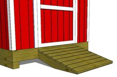 How To Build A Shed Ramp Building a ramp for a shed or storage building