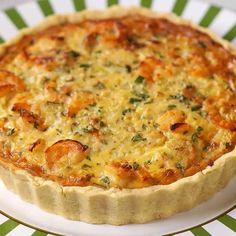 Seafood Fondue Recipe, Fondue Recipes, Quiche Recipes, Tart Recipes, Shrimp Recipes, Dessert Recipes, Cooking Recipes, Southern Tomato Pie, Portuguese Recipes