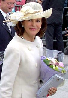 Queen Silvia of Sweden, German-Brazilian Queen of Sweden, mother of three, champion of good causes