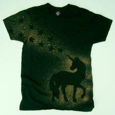 Einhorn Hemd Festival-T-Shirt klein S Bleichmittel von MoonHappy