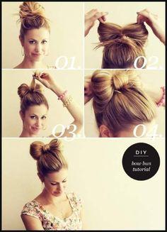 62 DIY-Schnelle & Einfache Frisuren: Foto-Tutorials & Videos ... | Einfache Frisuren