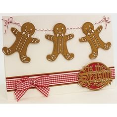 Tonic Studios Christmas Rococo Gingerbread Man Die Set 1