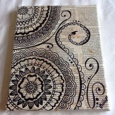 Handmade Henna Canvas
