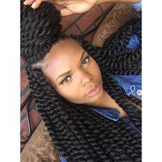 Black Girls R Pretty 2 - Modern Twist Styles, Braid Styles, Dope Hairstyles, Weave Hairstyles, Love Your Hair, My Hair, Crochet Twist, Crochet Braids, Twist Braids