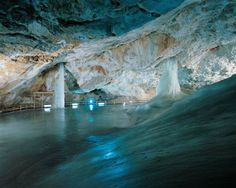 one of the biggest ice caves in Europe – Dobšinská Ice Cave, Slovakia
