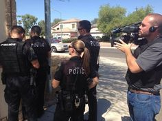 Glendale police in the field doing their jobs while being filmed by TV show COPS for their 27th season