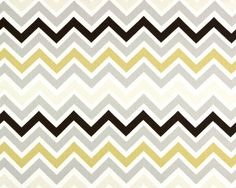 Zigzag Valance. Khaki creamy tan grey brown and white twill Curtain. Window treatment.  Country curtains.  Choose  your sizes by TwistedBobbinDesigns on Etsy