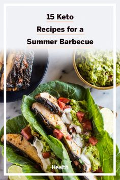 Each of these summer BBQ mains, sides, desserts, and drinks are keto friendly so you can kick back and enjoy your food without worry. #keto #ketodiet #ketorecipes #summer #bbq