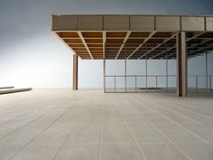 chriscsketches: Mies van der Rohe, Neue Nationalgalerie 1:50 Model of Mies van der Rohe's Neue Nationalgalerie, Berlin. In collaboration with: Christopher Taylor, Harry Molyneux.