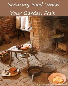 When your garden doesn't give you the supply of food you desire, there are other options for securing the food your family needs for the upcoming year.