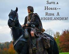 Cowboy Friday ~ Highlander style! Yesss ♡