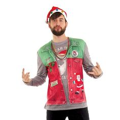 38 Best Mens Ugly Christmas Sweaters images  96b4387eca46