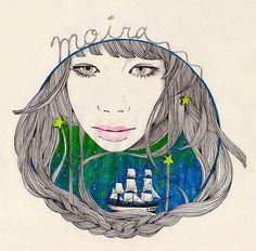 """""""Sail Westward"""" by Yukari Terakado"""