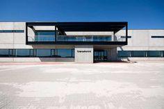 Port of Aarhus Inspection Centre  C.F. Møller. Photo: Julian Weyer