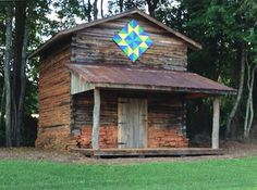 Preserving Old Tobacco Barns. Restored barn in Yadkin County in the tradition of Old Bright Belt of northwestern Piedmont.  NC