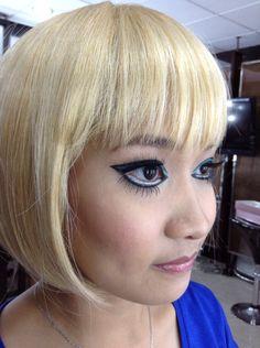 60's makeup 60s Makeup, Makeup Looks, 1960s Makeup, Sixties Makeup, Make Up Looks