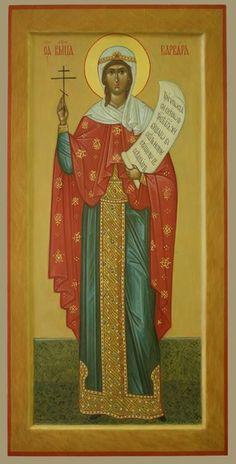 Труд Иконописца Saint Barbara, Religious Art, Saints, Cathedrals, Painting, Orthodox Icons, Lds Art, Painting Art, Cathedral