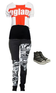 """""""Untitled #569"""" by death-to-your-heart ❤ liked on Polyvore featuring moda i Ash"""