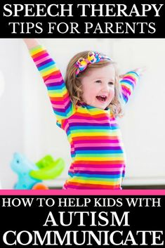 Are you looking for ways to help a speech delayed child? I'm sharing 7 tips from a Speech Language Pathologist that help encourage language and speech for non-verbal autistic children and kids with other verbal delays! These speech therapy tips can be used at home or in the classroom to help our kids with speech delays! As a mom of a kid with autism, I am thankful to have this trusted resource!