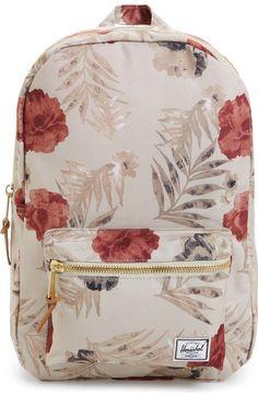 Main Image - Herschel Supply Co. Pretty Backpacks, Cute Backpacks For School, Cute School Bags, Cute Mini Backpacks, Stylish Backpacks, Girl Backpacks, Herschel Backpack, Backpack Purse, Camo Purse