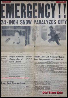 Thanksgiving Storm 1956