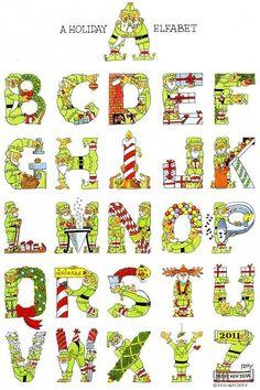 abecedari nadal