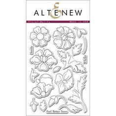 Altenew FLORAL MOTIFS Clear Stamp Set