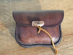Leather Belt Pouch by HawkStudio on Etsy