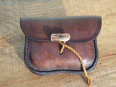Leather Belt Pouch by HawkStudio on Etsy