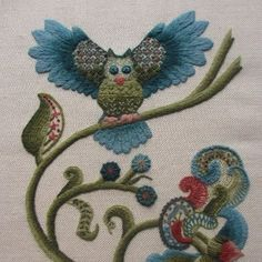 Royal School of Needlework   ... piece of hand embroidery taught by the Royal School of Needlework