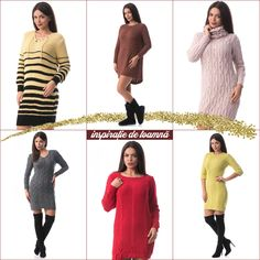 Sweaters, Dresses, Fashion, Tricot, Gowns, Moda, La Mode, Pullover, Sweater