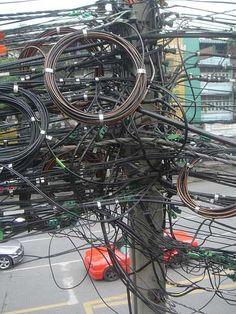 improvised cabling - Hledat Googlem