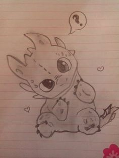 Baby Toothless :) please Don't repin without say it's my draw Thanks :D